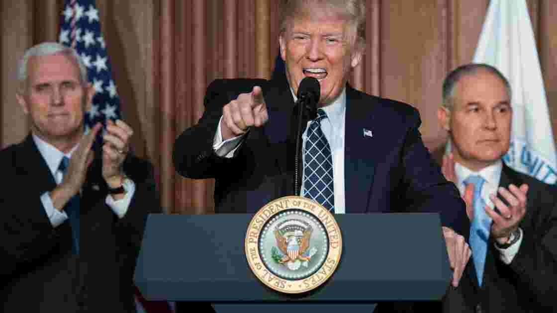 USA: le PDG d'une entreprise de charbon plaide pour les accords climatiques