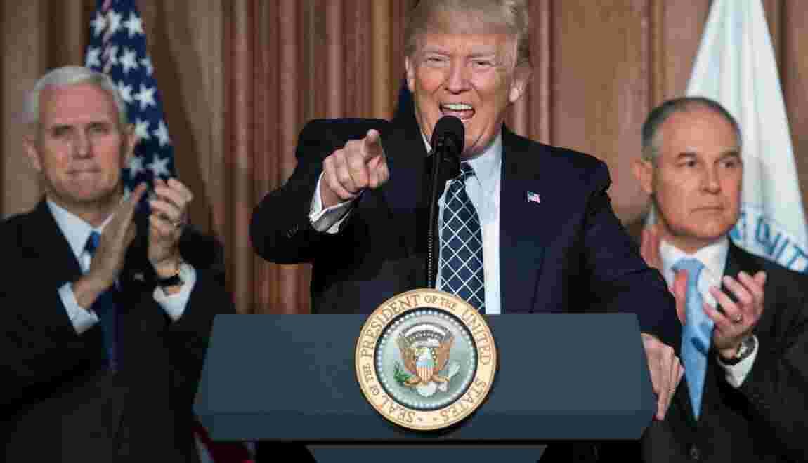 Climat: Trump lance l'offensive contre le bilan d'Obama