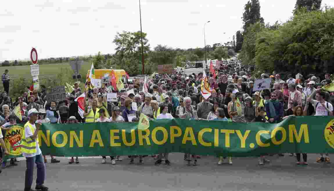 Projet Europacity: trois fédérations de commerçants rejoignent ses opposants