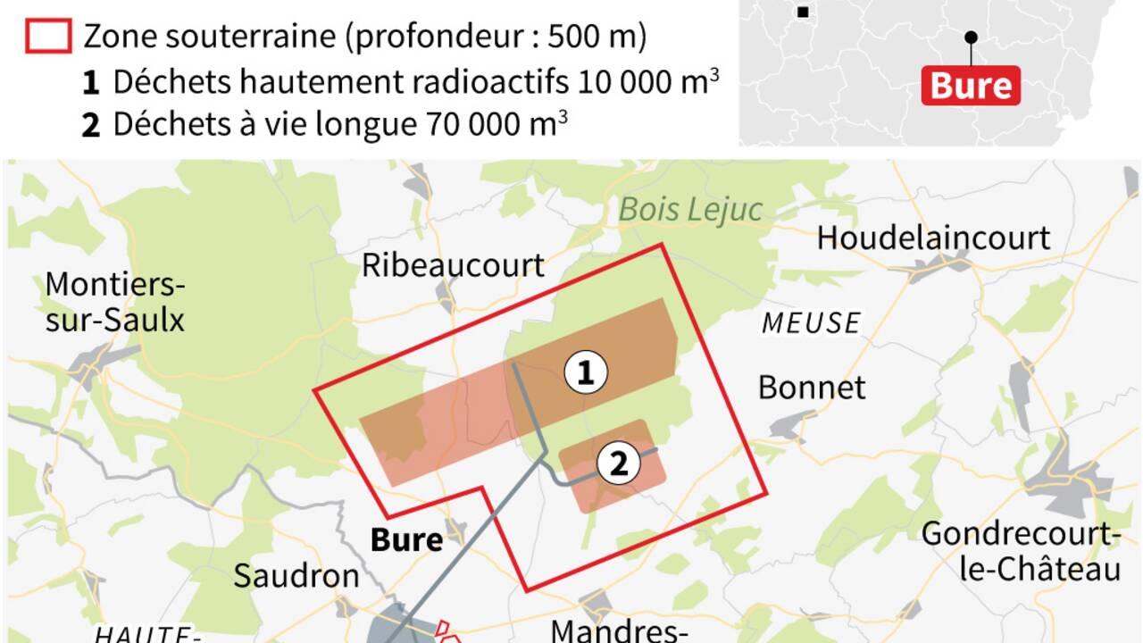 Bure: des anti-nucléaires s'approchent de nouveau du bois Lejuc