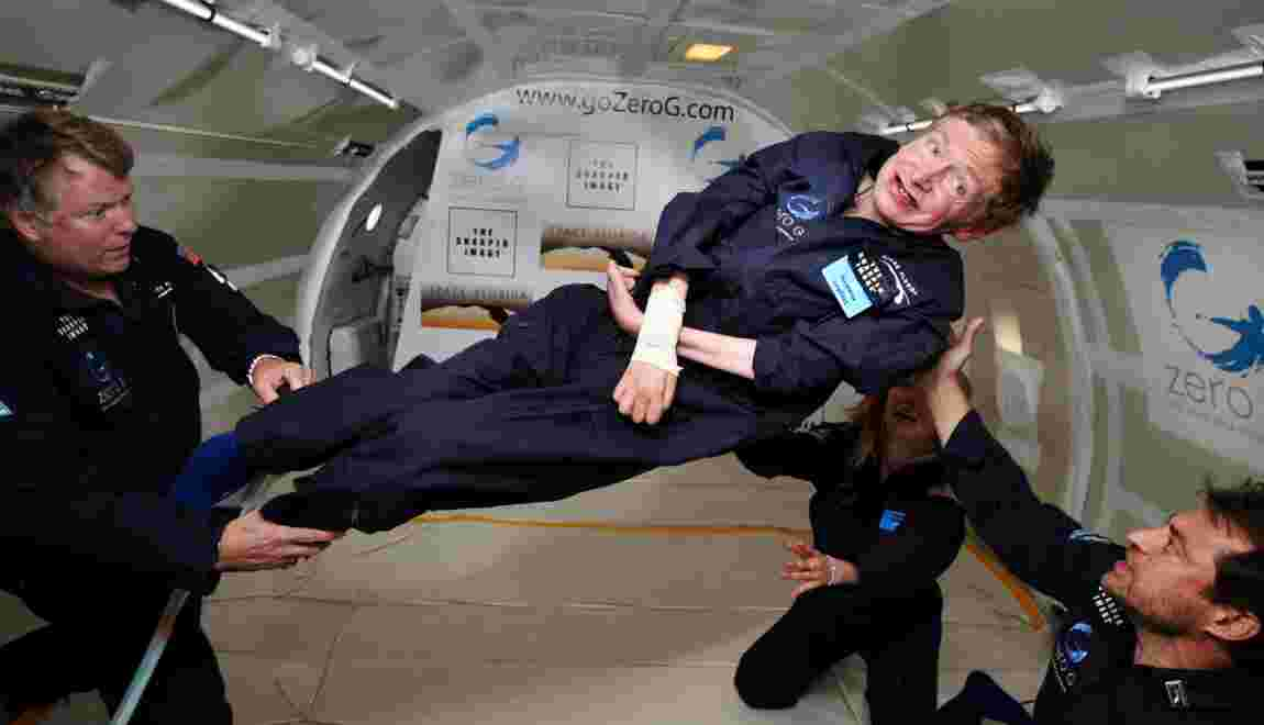 L'astrophysicien britannique Stephen Hawking est mort à 76 ans