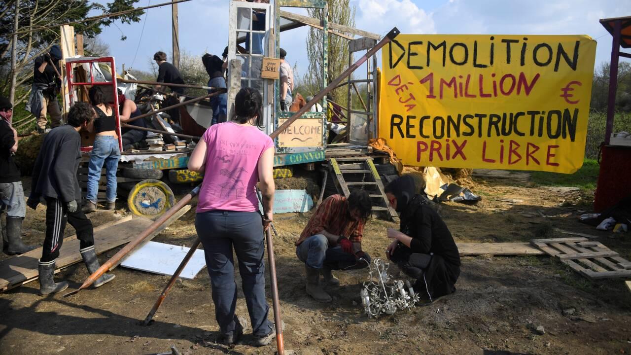 NDDL: Philippe tend la main aux zadistes et met en garde contre toute réoccupation