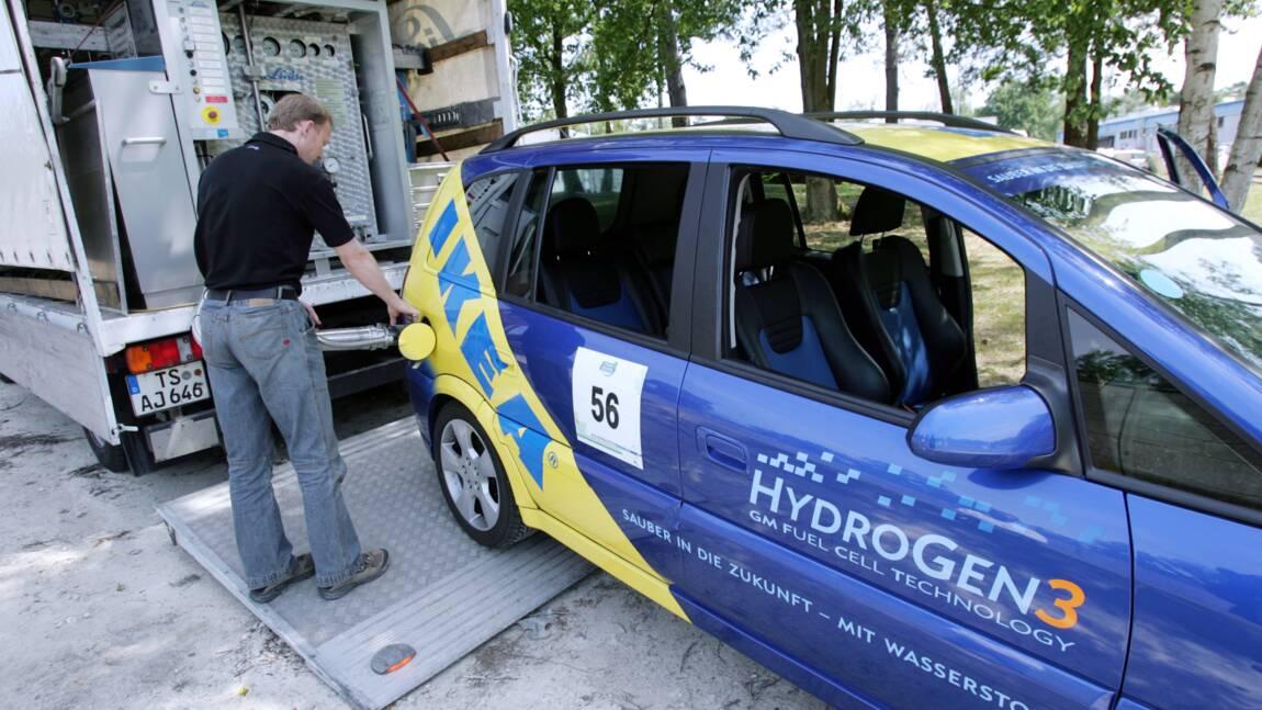 """Hulot veut faire de la France un """"leader mondial"""" de l'hydrogène"""