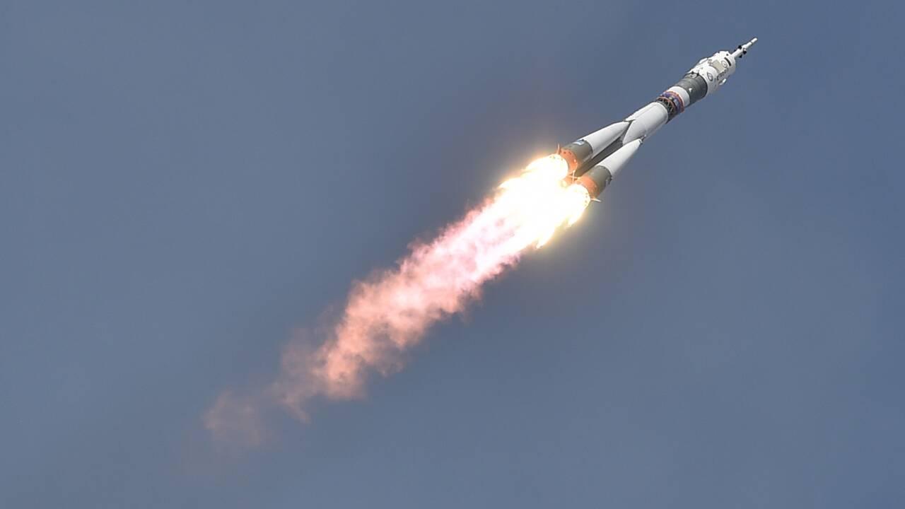 Trois astronautes ont décollé vers l'ISS à bord d'une fusée Soyouz