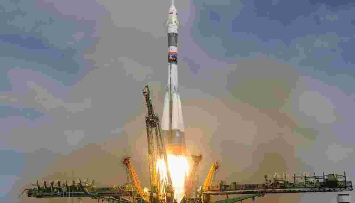 Arrimage à l'ISS réussi pour un Soyouz et ses trois spationautes