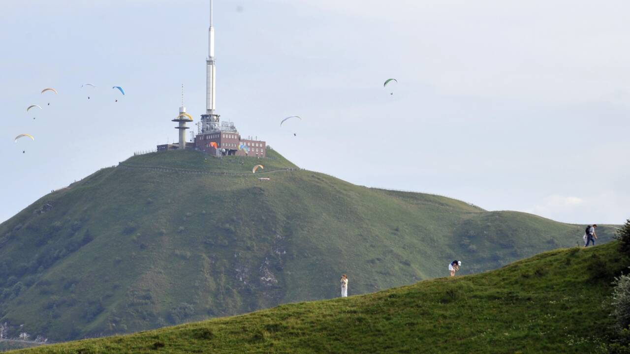 La Chaîne des Puys en Auvergne classée par l'Unesco au patrimoine mondial