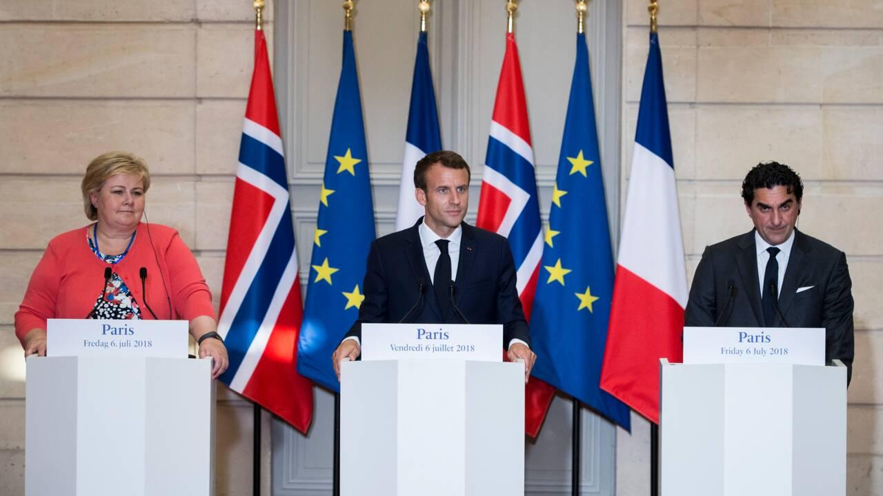 Six grands fonds souverains s'engagent à Paris pour le climat