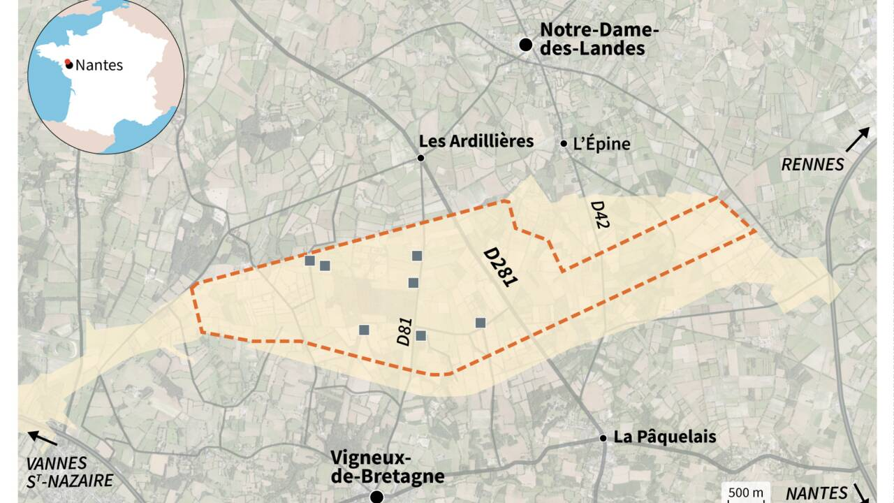 Le projet d'aéroport à Notre-Dame-des-Landes en 10 dates-clés