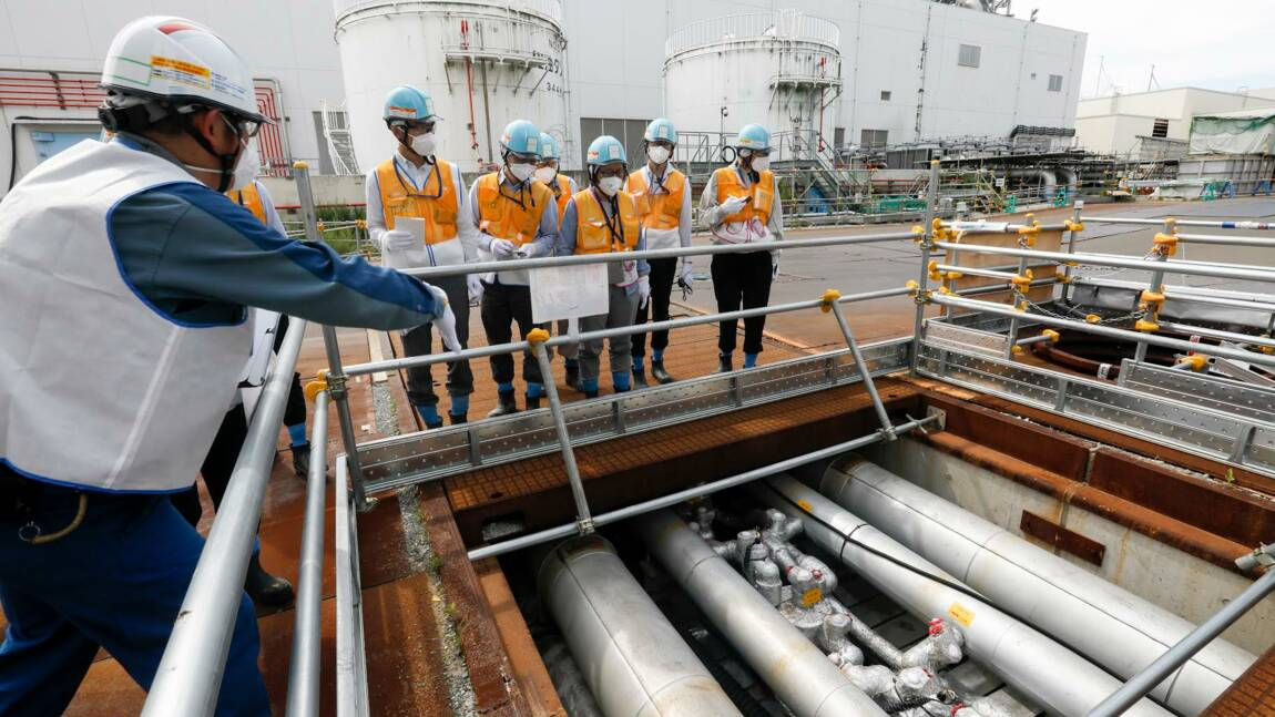 Au Japon, comme une apparence de normalité à la centrale de Fukushima