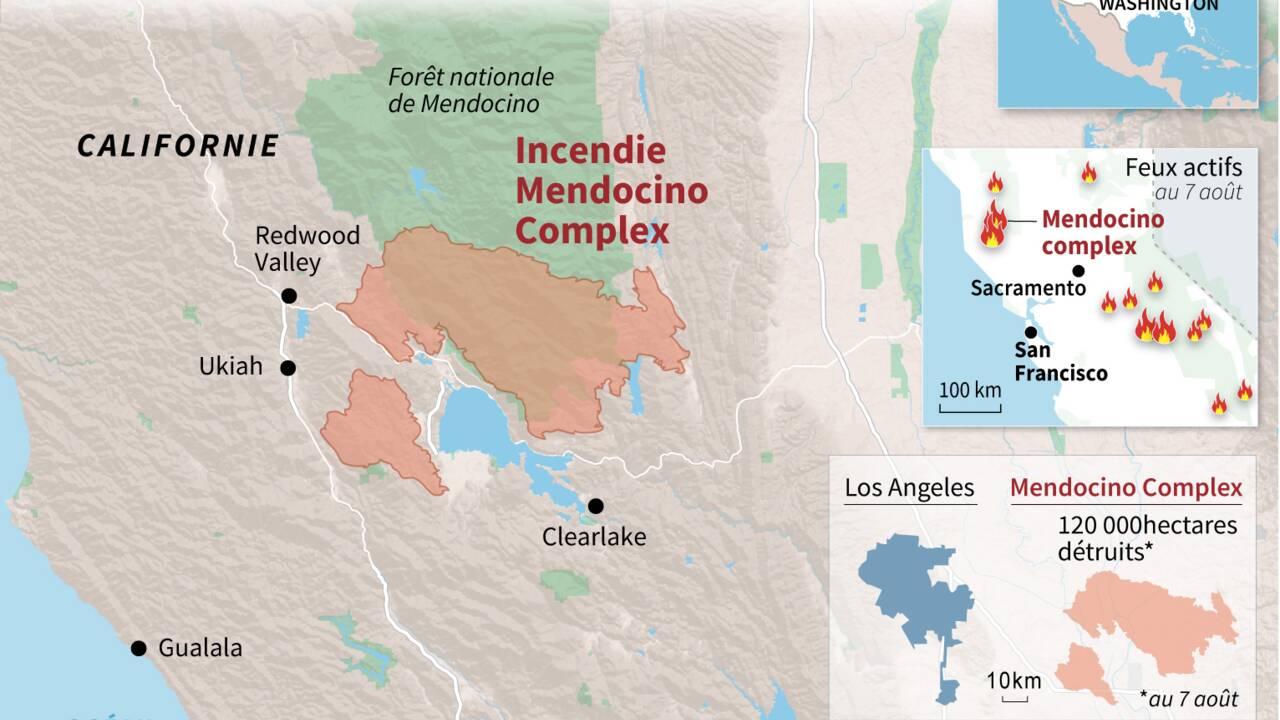 """Incendies en Californie: """"Cette maison, c'est tout ce que nous avons"""""""
