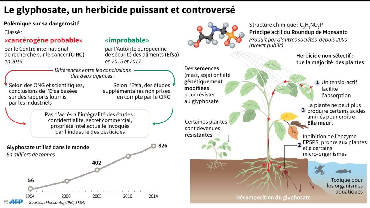 Pesticides: les parlementaires français prônent une interdiction limitée du glyphosate