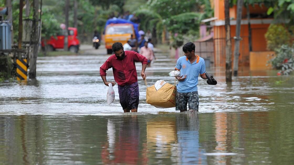 Avec le réchauffement, les inondations appelées à augmenter en Inde