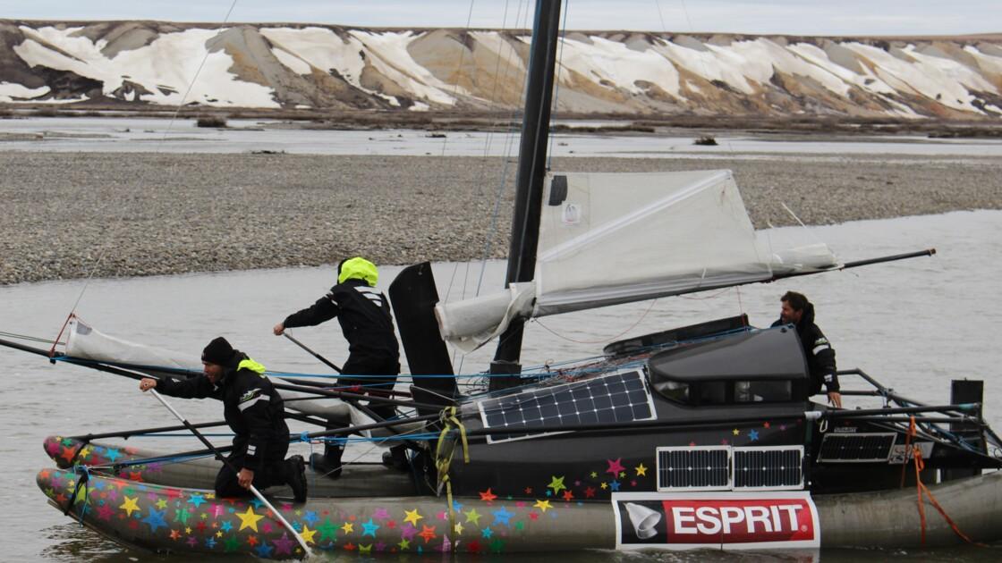 Traversée de l'Arctique à la voile: l'expédition fait demi-tour