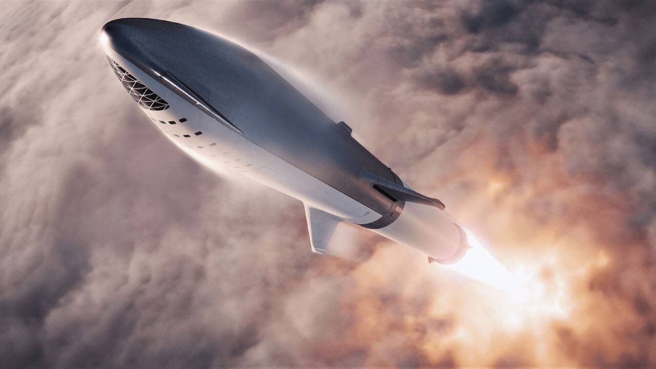 Objectif Lune pour SpaceX