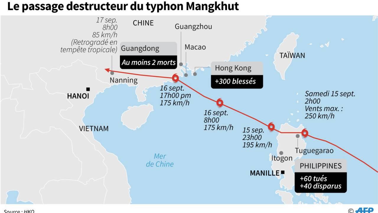 Typhon aux Philippines: 74 morts, les recherches se poursuivent