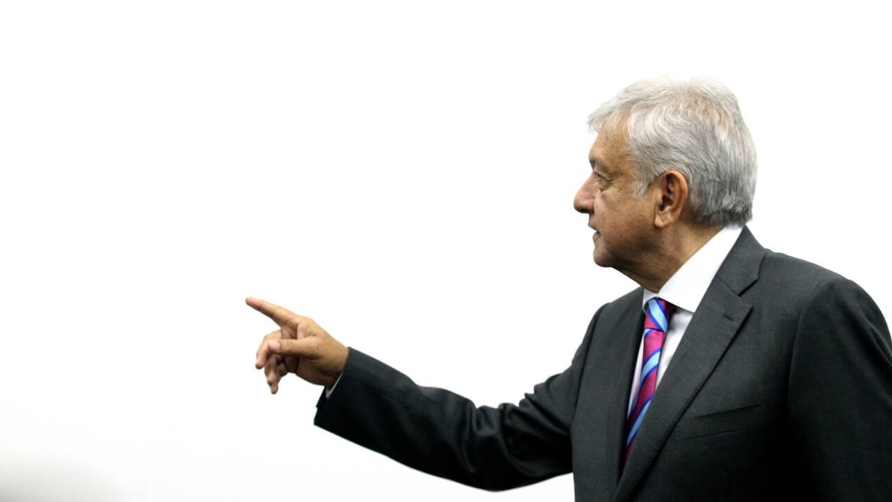 Mexique: le président élu Lopez Obrador compte annuler la construction du nouvel aéroport de Mexico