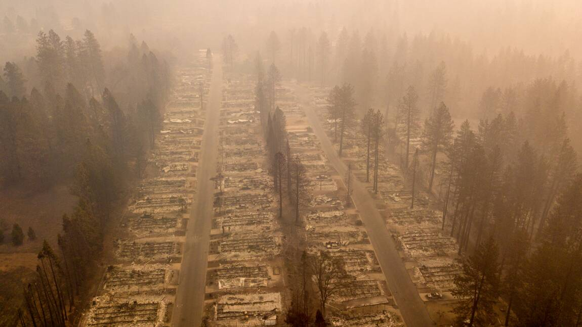 Le paradis perdu dans les incendies de Californie