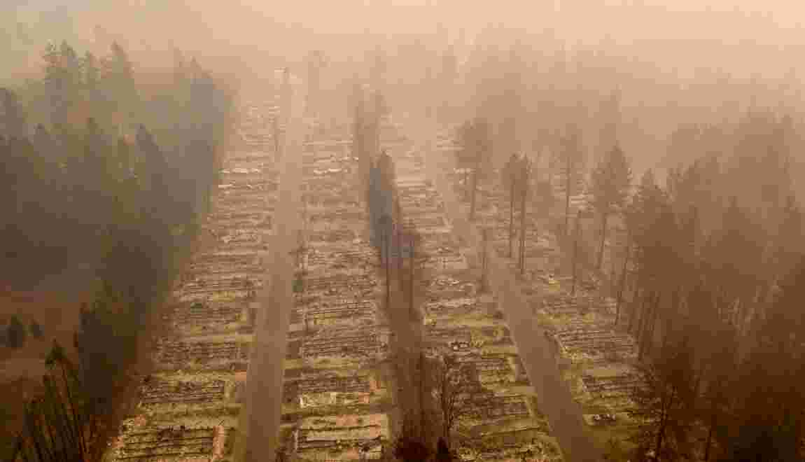 Le paradis perdu dans les incendies de Californie
