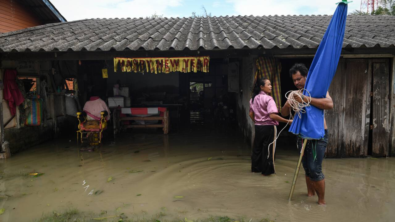 Tempête en Thaïlande: inondations et coupures de courant, îles touristiques épargnées
