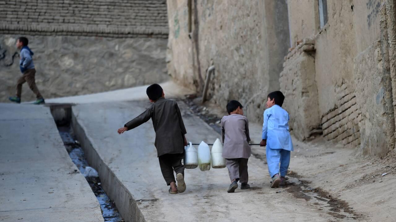 Afghanistan : l'eau commence à manquer à Kaboul