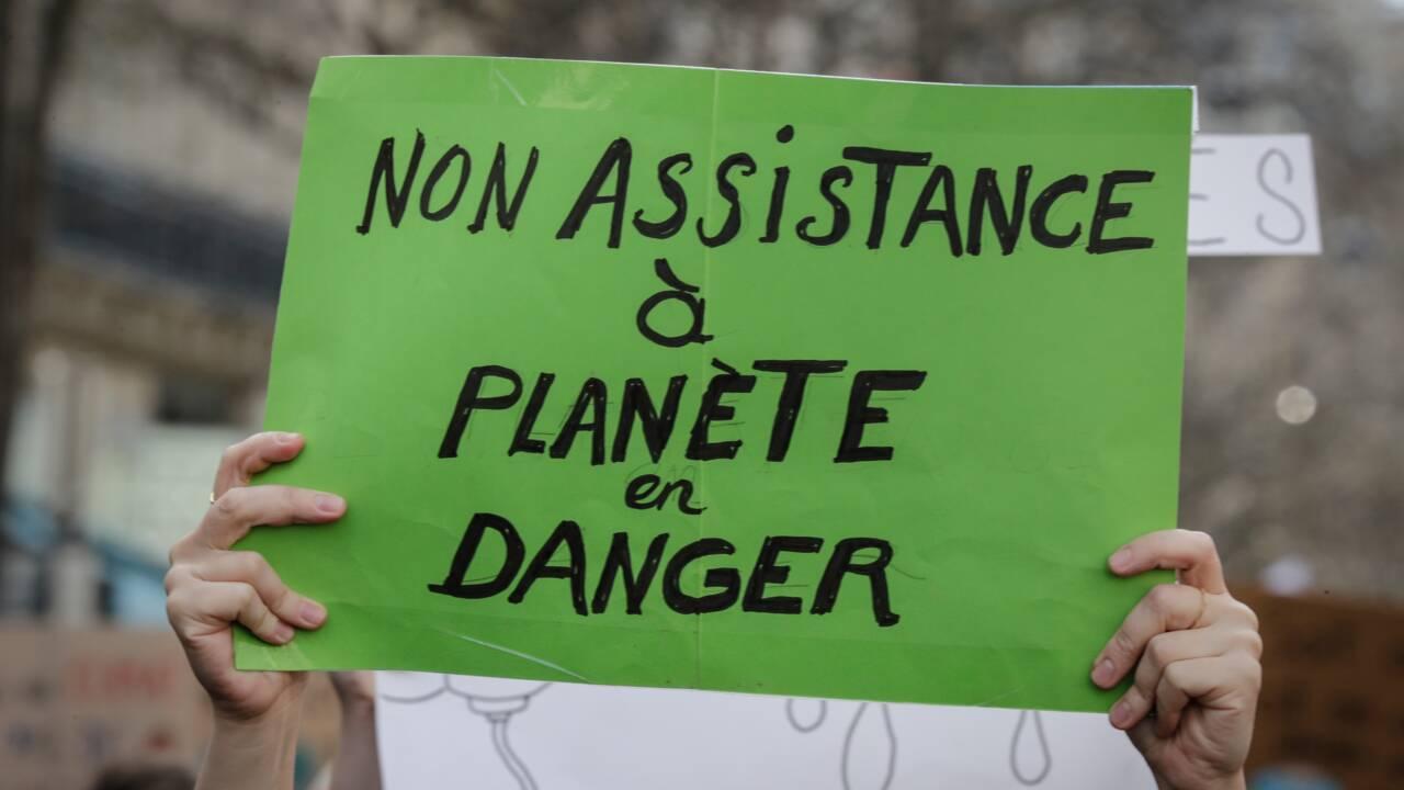 """La """"Marche du siècle"""" fait le plein pour le climat et la """"justice sociale"""""""
