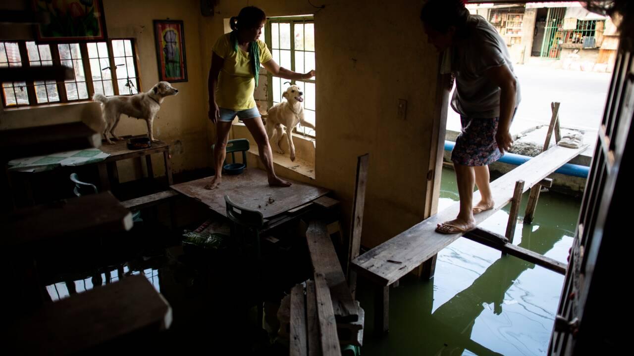 Aux Philippines, ces villages qui s'enfoncent inexorablement dans le sol