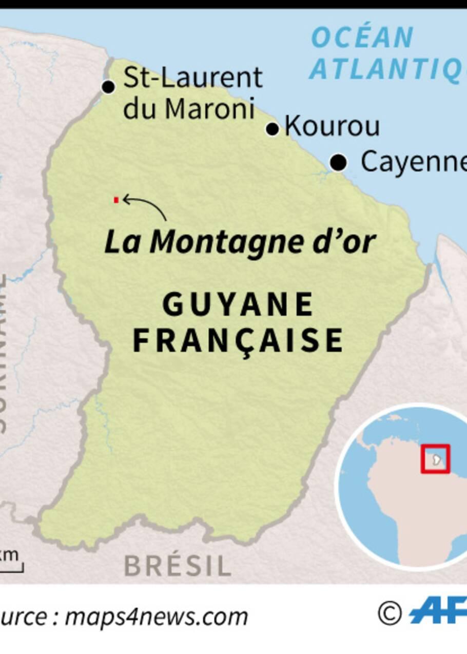 Guyane: l'exécutif rejette le projet Montagne d'Or, les opposants doutent