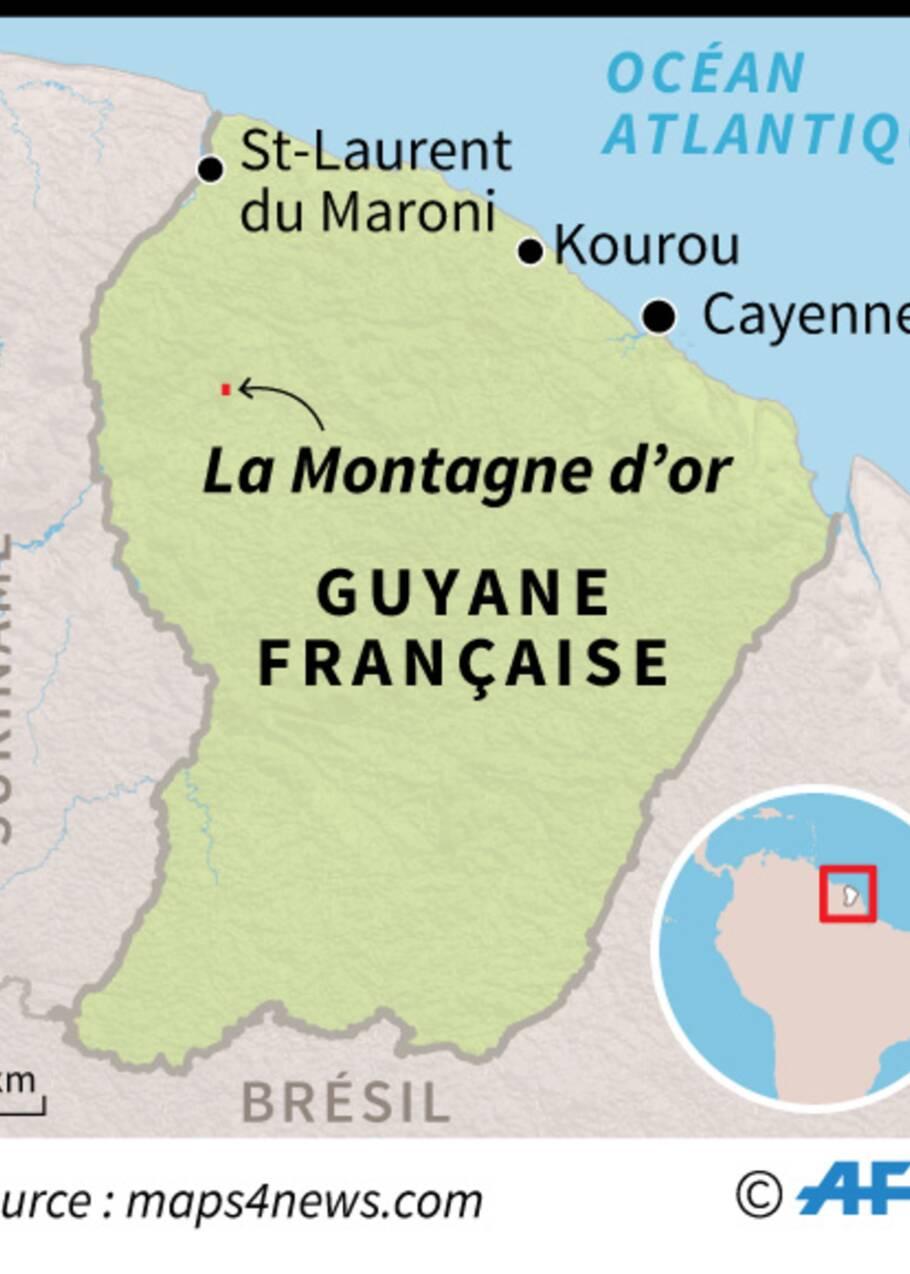 """Le projet de Montagne d'Or """"ne se fera pas"""", assure Brune Poirson"""