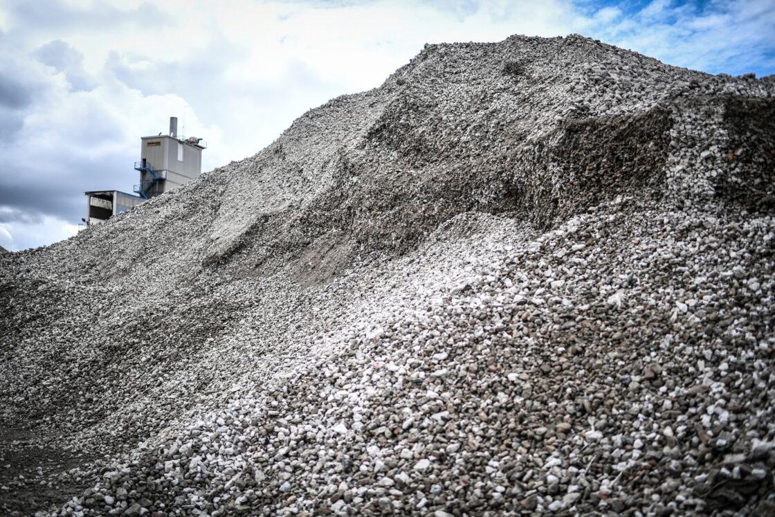 Plateforme Du Batiment Gennevilliers les chantiers de démolition, une mine pour les producteurs