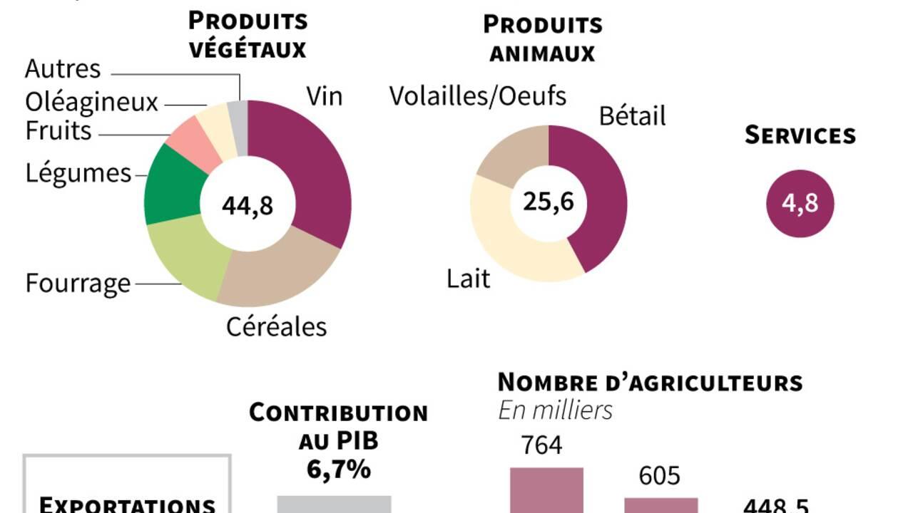 Sécheresse: les céréaliculteurs auvergnats inquiets après une récolte catastrophique