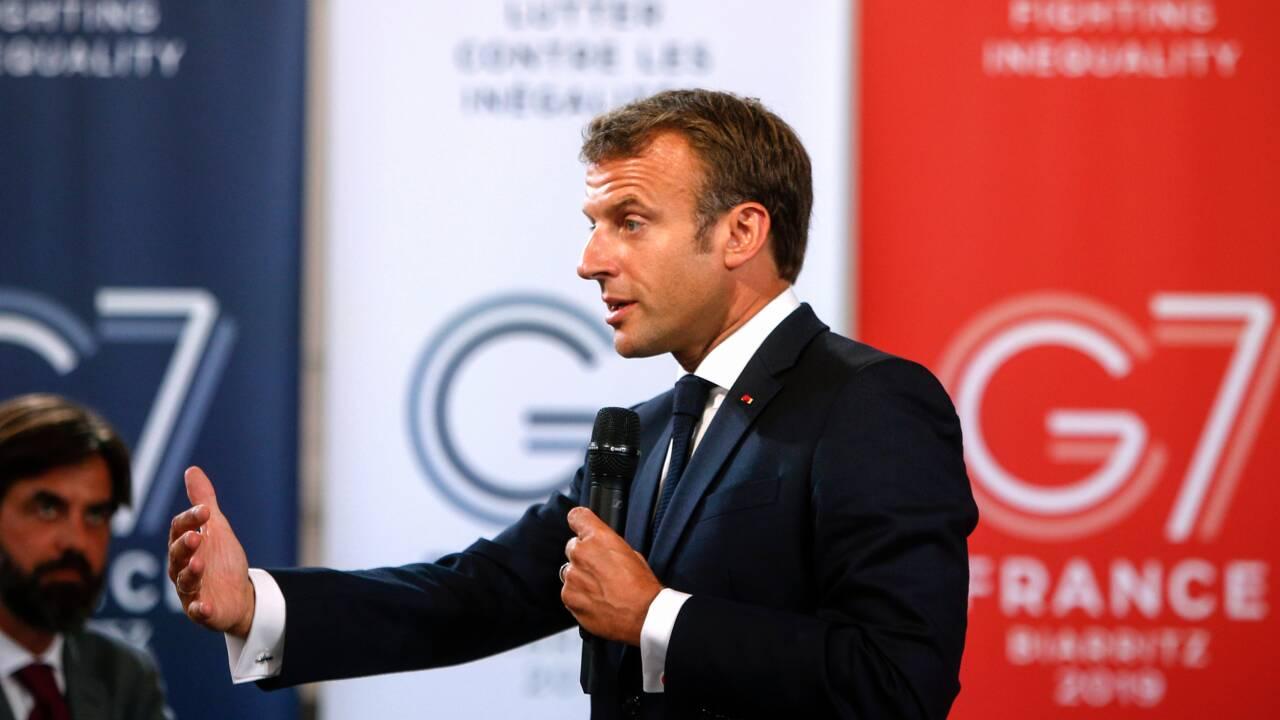 Feux en Amazonie, guerre commerciale: la tension monte à l'aune du G7 en France
