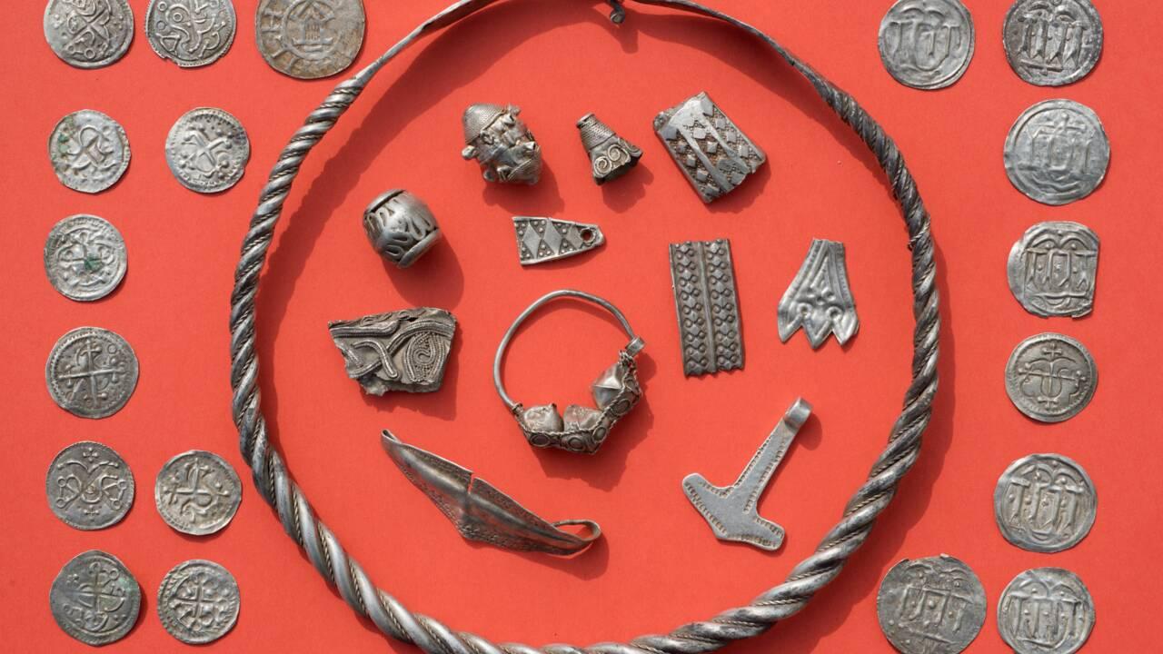En Allemagne, un enfant découvre un trésor d'un célèbre roi danois du Xe siècle