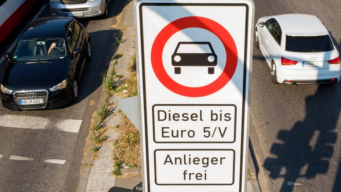 Diesel: première interdiction de circuler en Allemagne