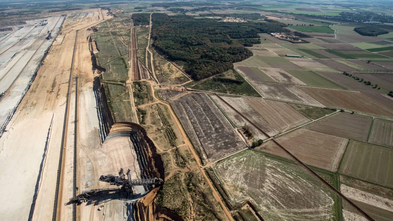 Allemagne: la justice suspend l'extension d'une vaste mine de charbon