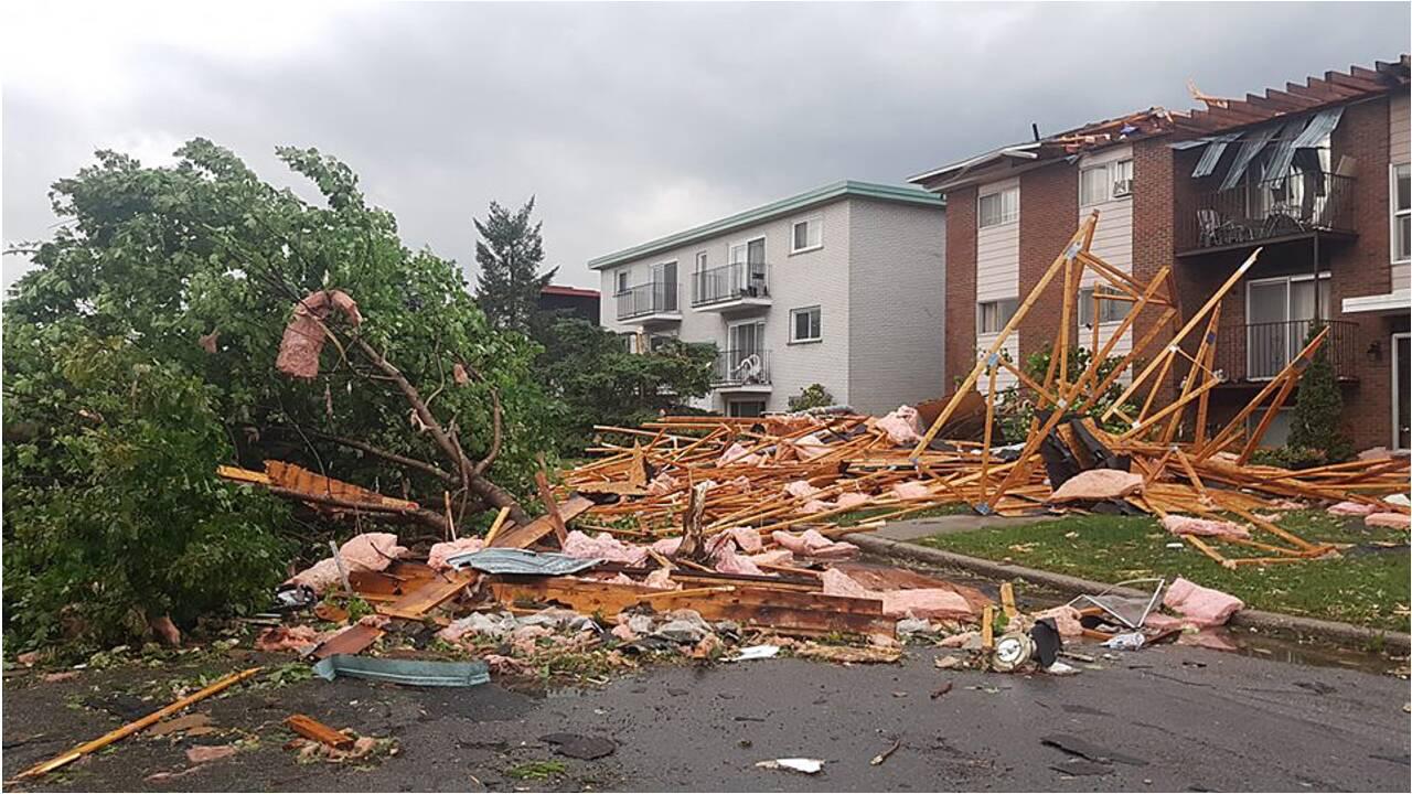 Canada: une tornade provoque d'importants dégâts près d'Ottawa