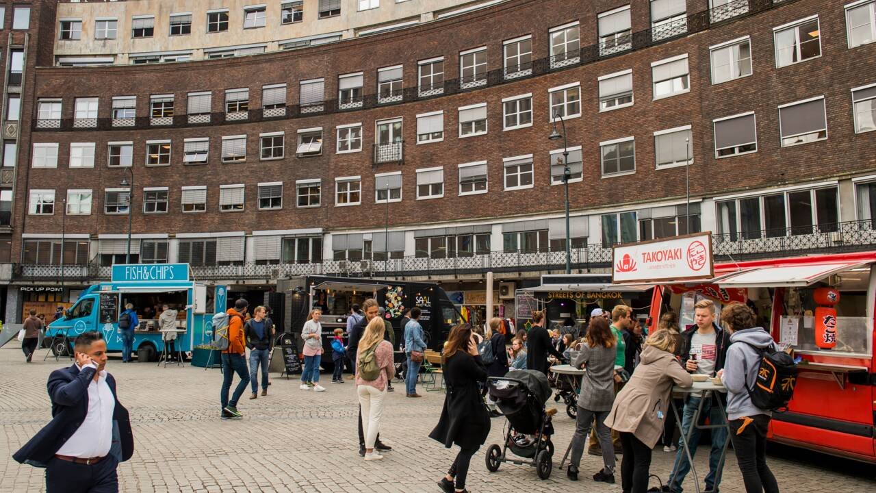 """À Oslo, la """"guerre à la voiture"""" est lancée"""