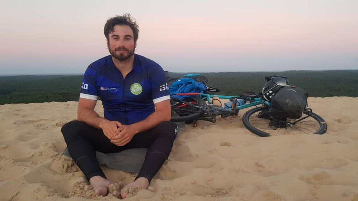 Julien Moreau, l'éco-aventurier qui veut sensibiliser les écoliers