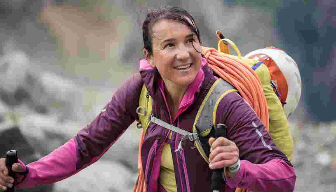 Alpinisme, ski, parapente... Liv Sansoz, la reine des 4000