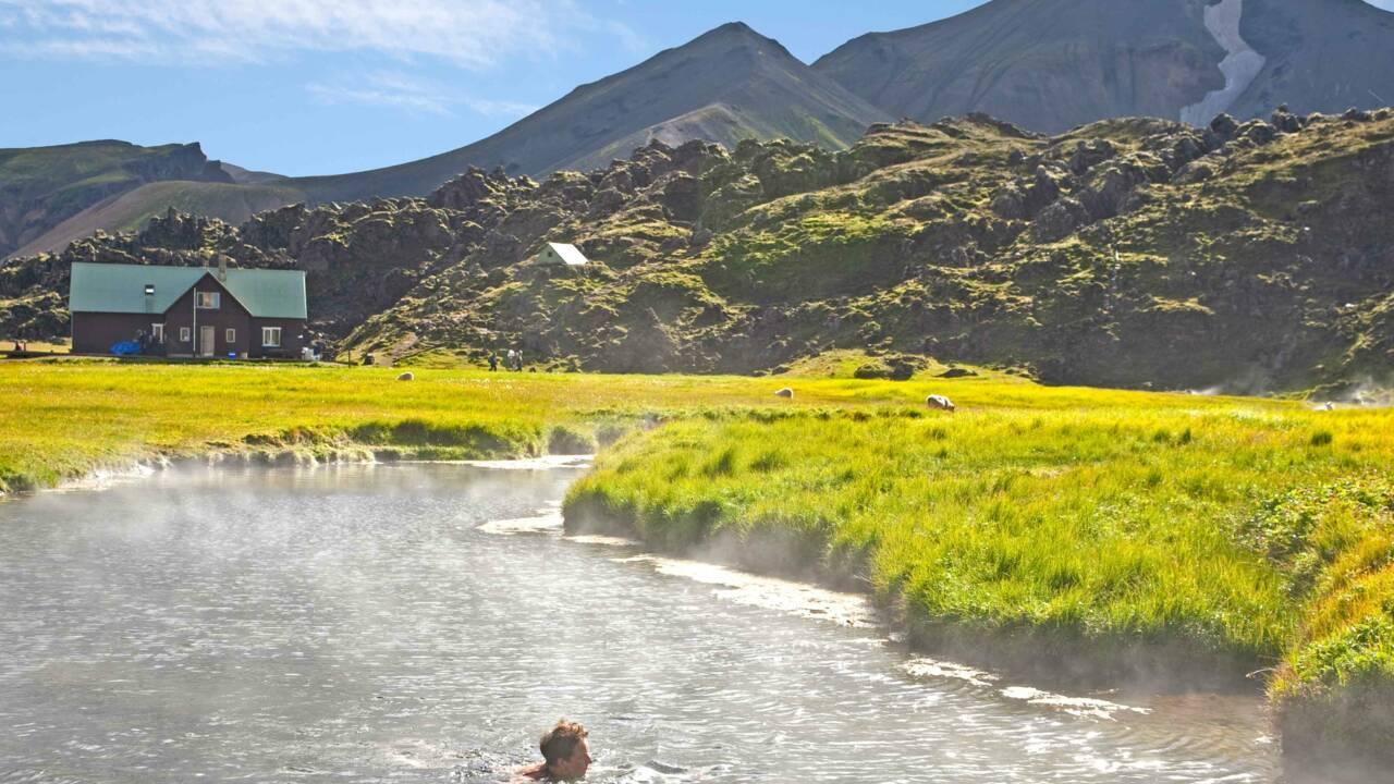 Islande : 10 piscines naturelles en terre de glace et de feu