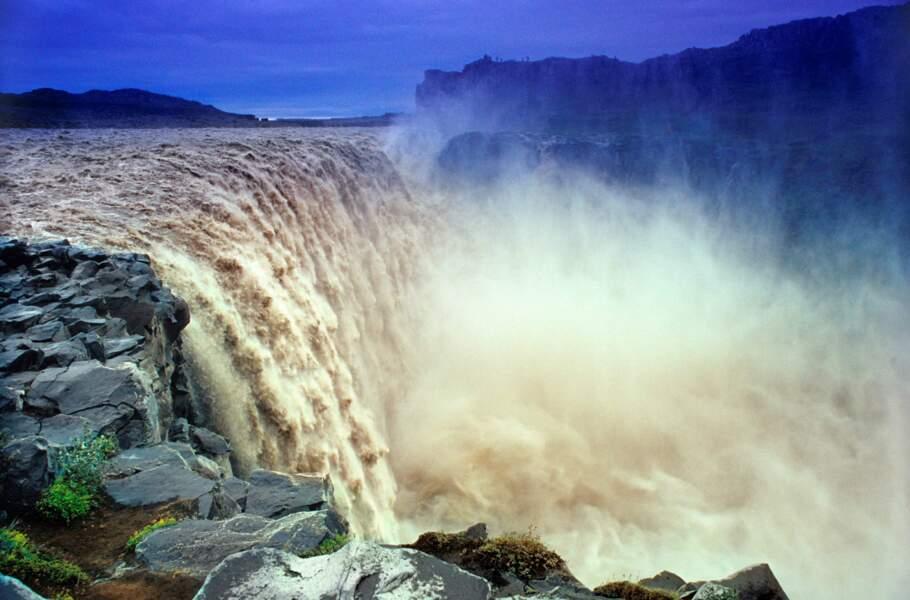 La «cascade enragée»
