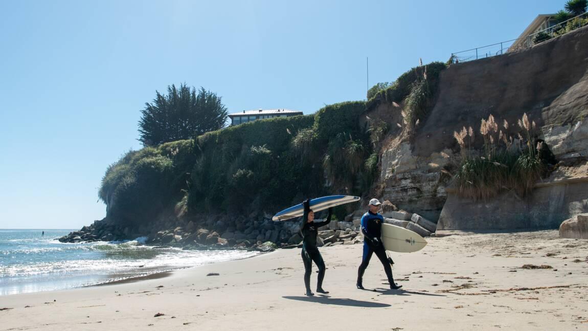 Surfeurs 1, milliardaire 0: en Californie, la plage reste ouverte à tous