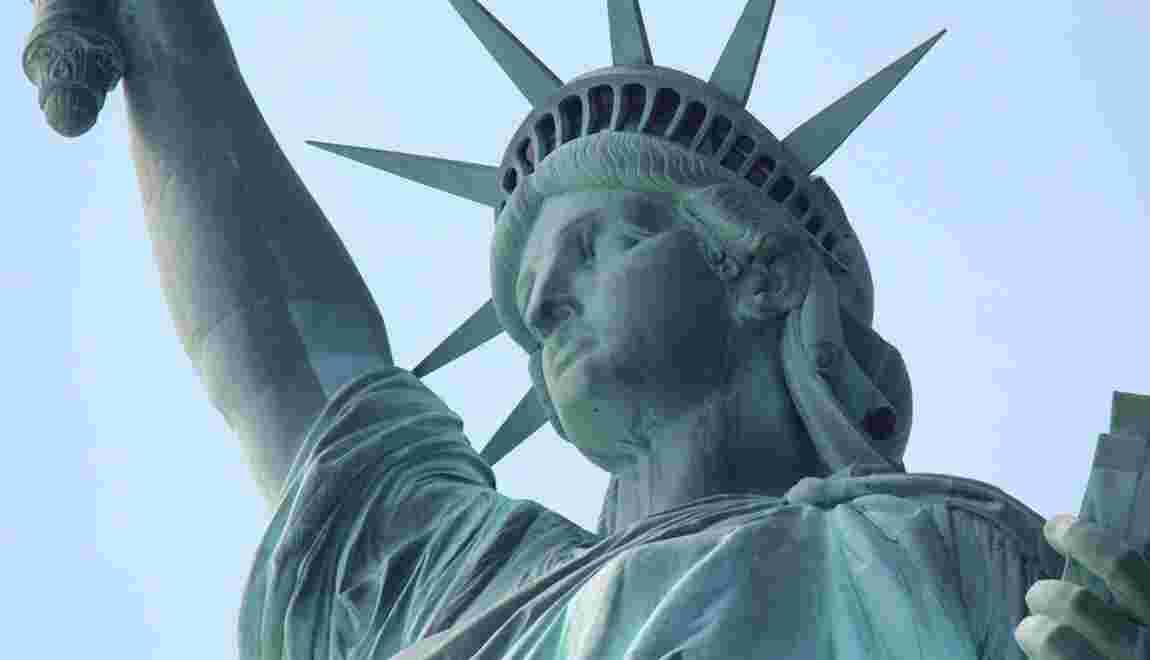 Qui a inspiré le visage de la statue de la Liberté ?