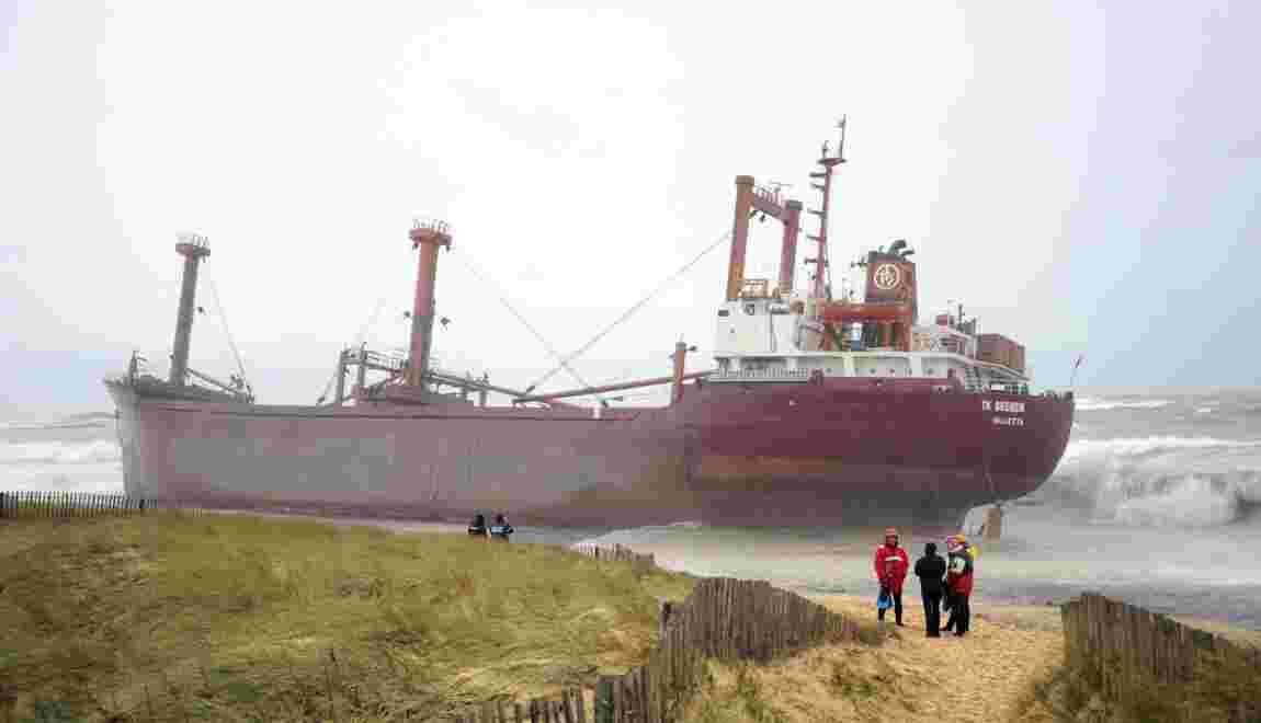 Le cargo TK Bremen échoué en 2011: le procès s'ouvre à Brest