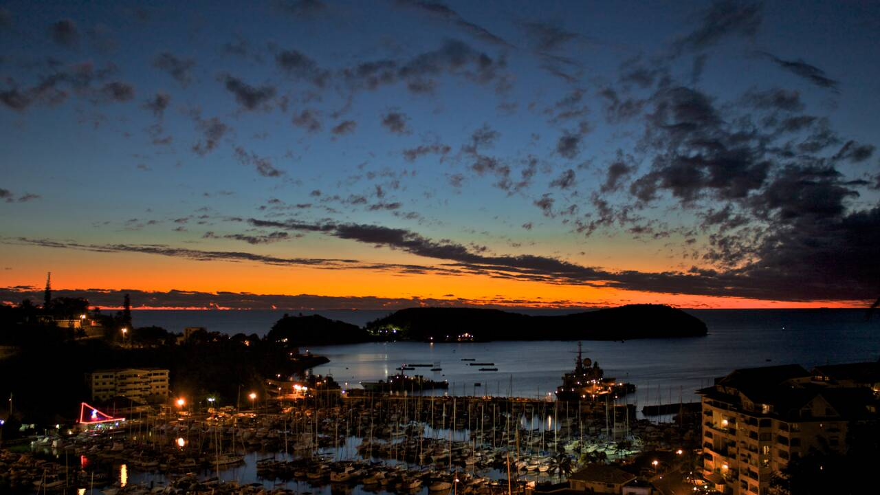 Nouméa : ma ville, la nuit