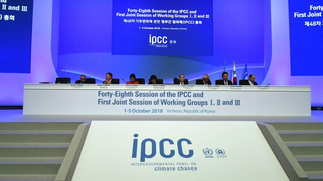 Climat: le rapport du Giec adopté par les Etats
