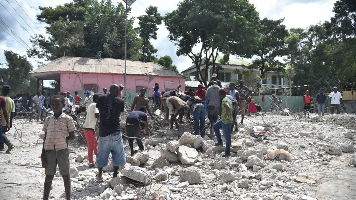 Au moins 12 morts en Haïti lors d'un séisme de magnitude 5,9