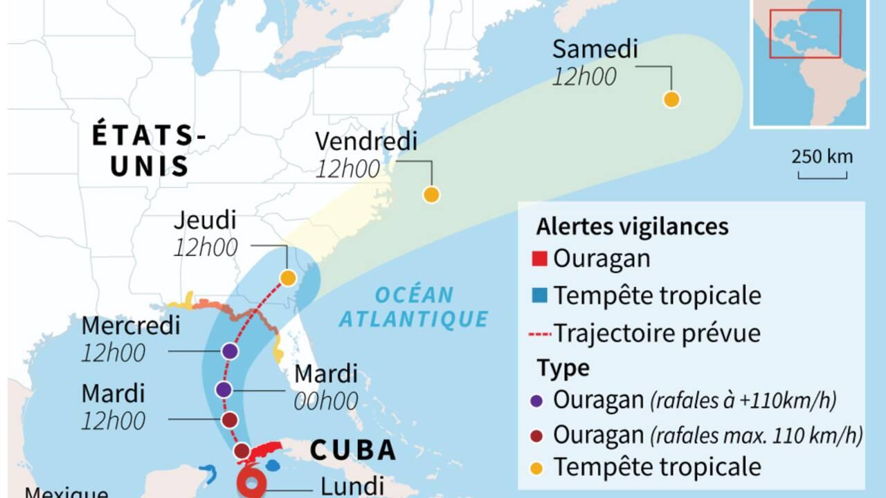 L'ouragan Michael se dirige vers la Floride