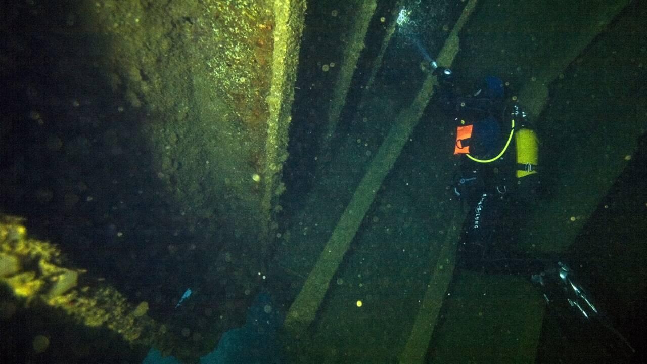 Quarante après, l'Amoco Cadiz est devenu un lieu de plongée