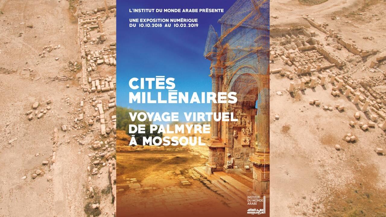 Palmyre : détruit par Daech, le temple de Baalshamîn reconstitué en 3D