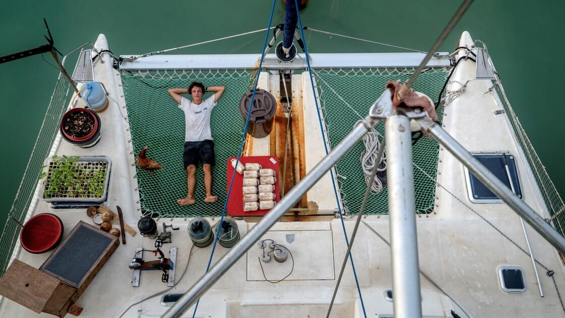 Corentin de Chatelperron, le navigateur à la pêche aux inventions low-tech